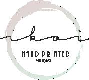 Ikoì Arte di Elena Fodera - hand printed