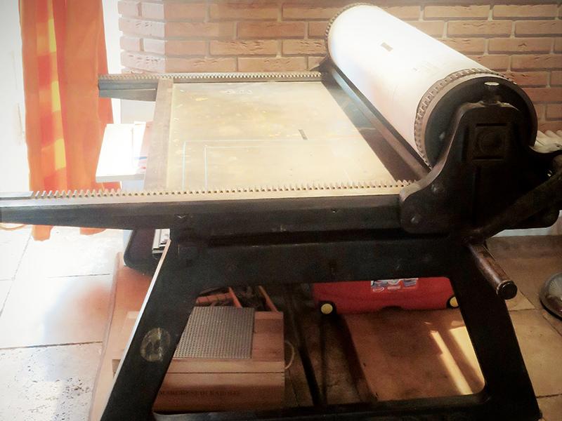 Ottone, il torchio tipografico