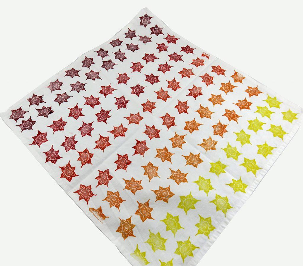 Furoshiki: Fiore a stella